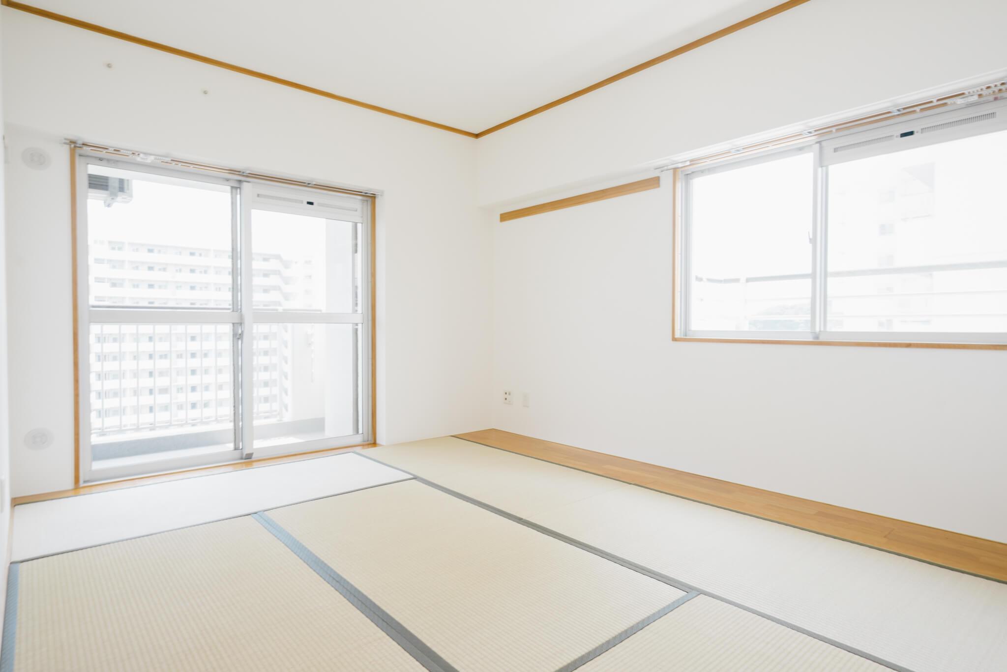 和室も明るい雰囲気です※画像は3DKのお部屋