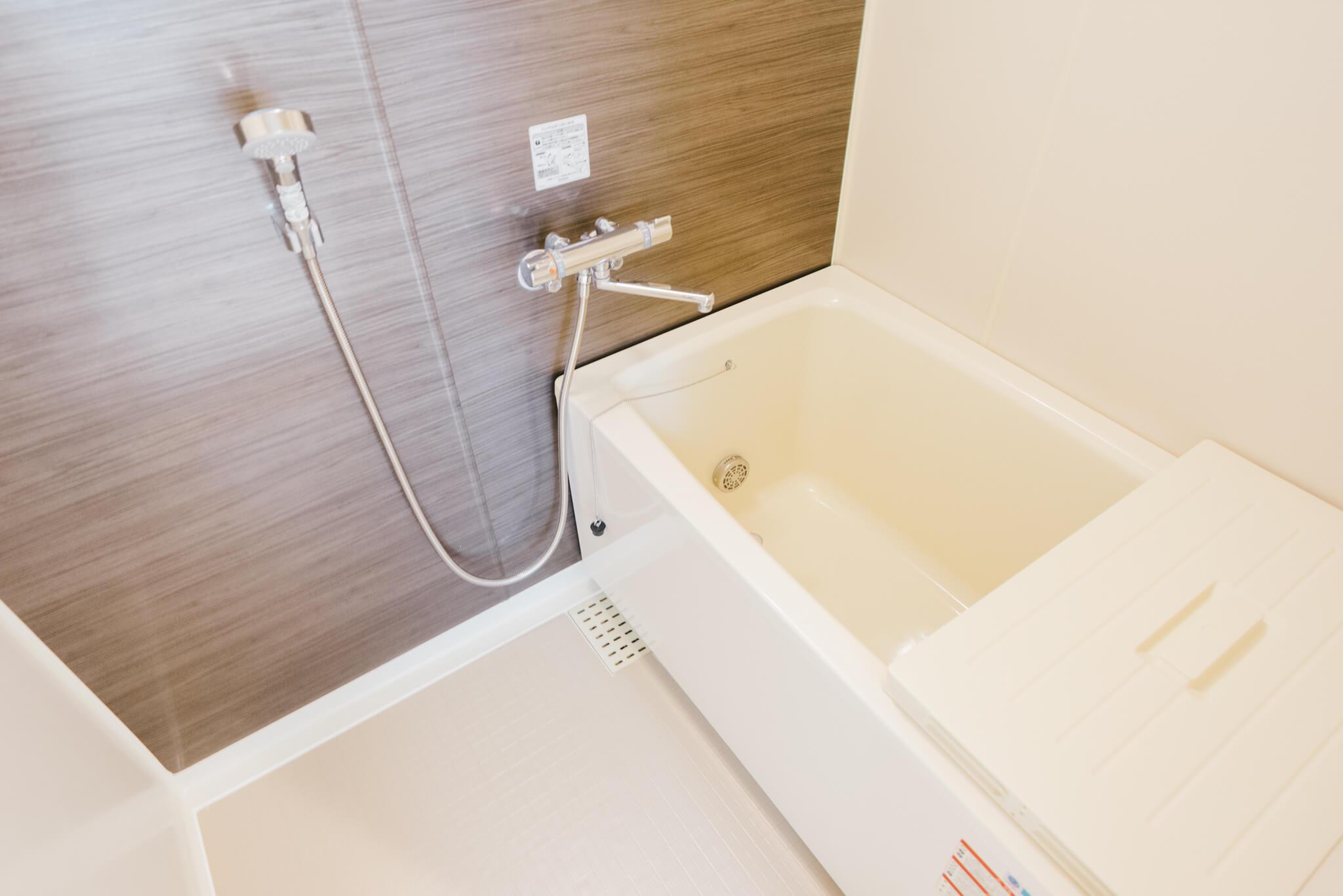お風呂も綺麗なモデルに刷新 ※画像は3DKのお部屋です
