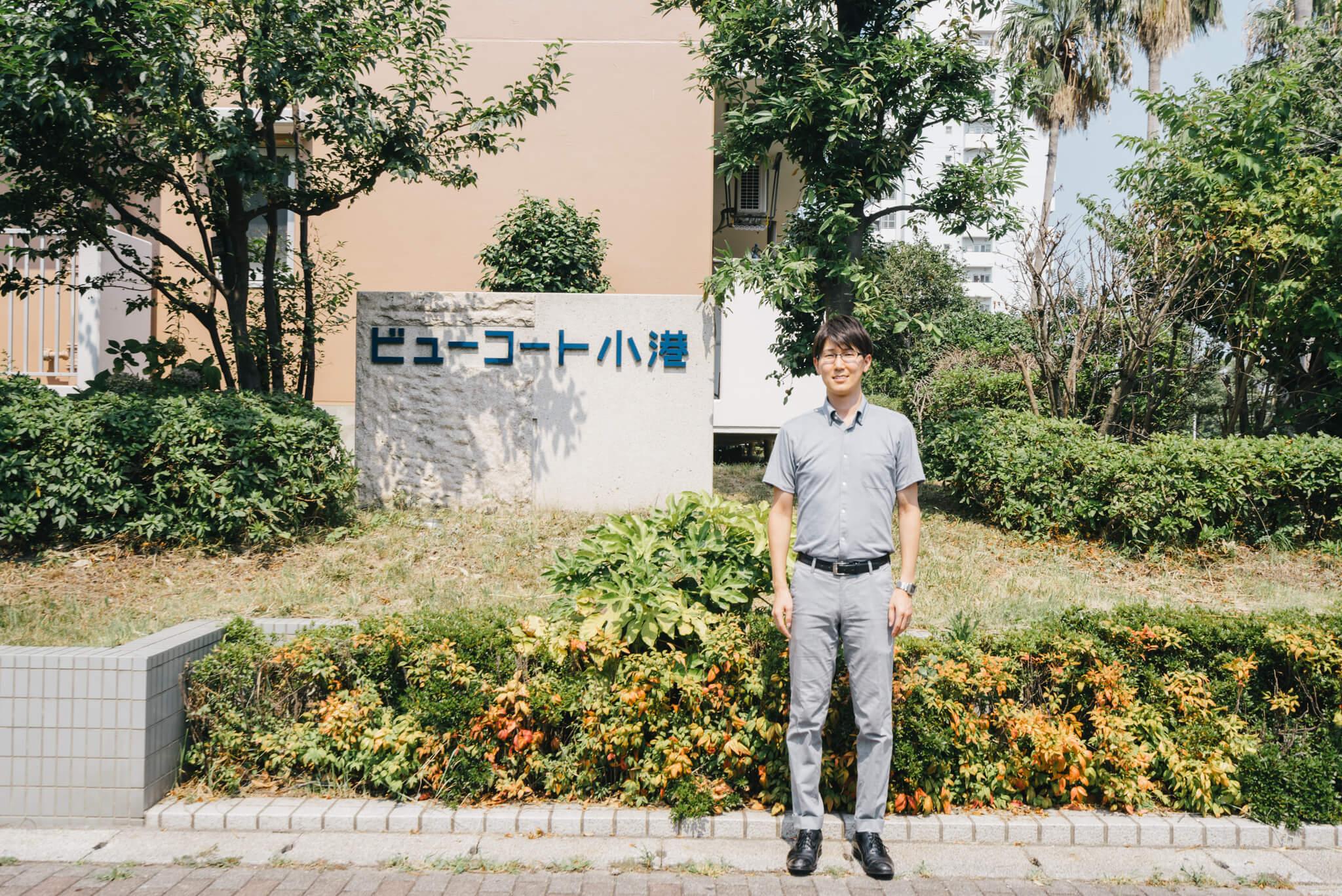 ご案内していただいたのは、UR都市機構の加藤裕さん。