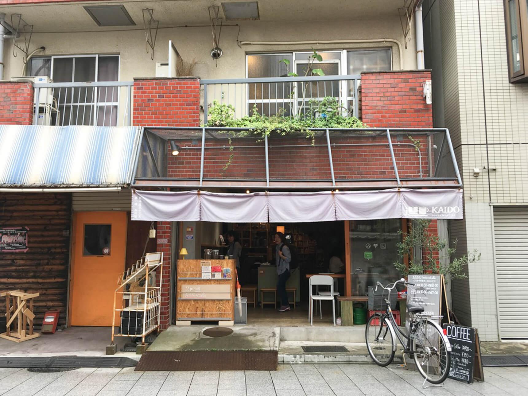 「品川宿」のあった街にある、旅がテーマのブックカフェ「KAIDO books & coffee」(東京ブックカフェ巡り Vol.1)