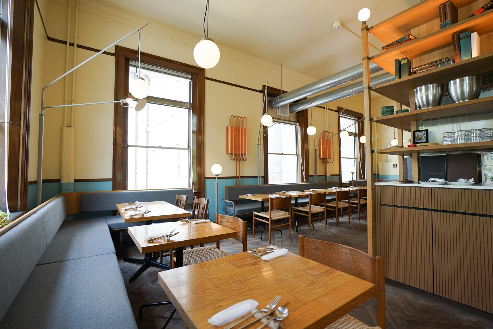 中之島図書館の中に誕生した北欧テイストのおしゃれな空間、スモーブローキッチン(大阪近代建築カフェめぐり Vol.1)