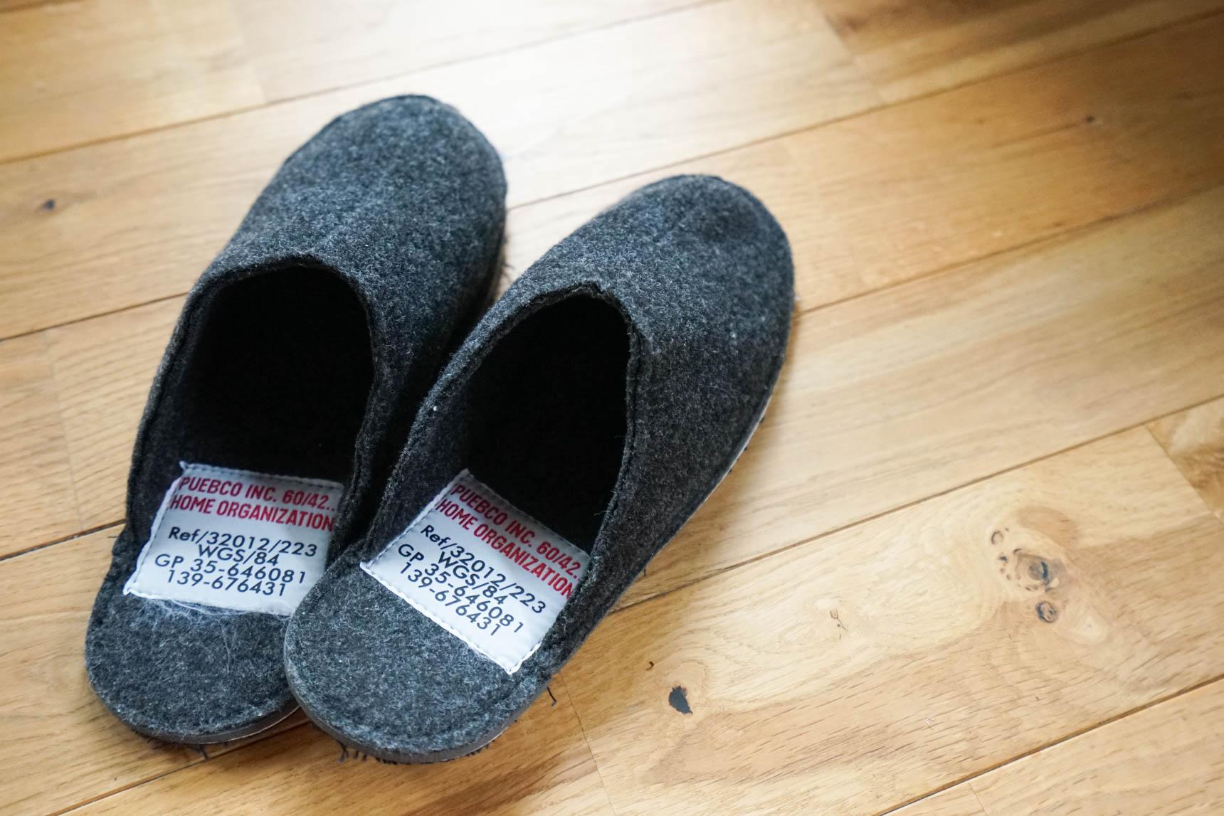 冬には厚手の靴下を合わせても良さそう