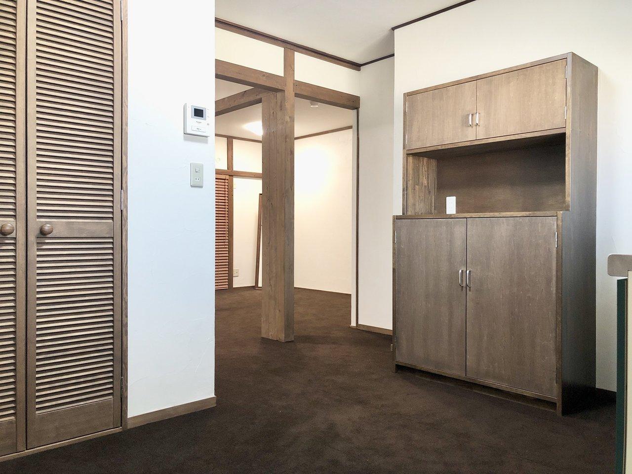 最後は、部屋の真ん中には柱があったりと、ちょっと一癖あるんだけれども、妙に気になるお部屋の紹介です。