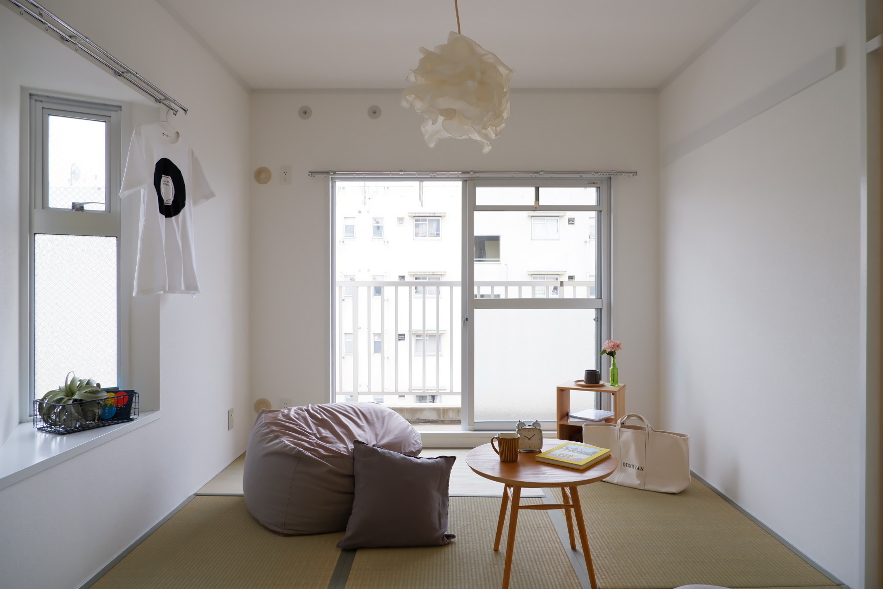 ほっこり寛げる和室もこの明るさ。とてもいいですね。