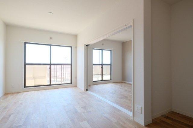 来年2月完成の、グッドルームオリジナル無垢床リノベのお部屋です※画像は同間取り、同仕様の別部屋
