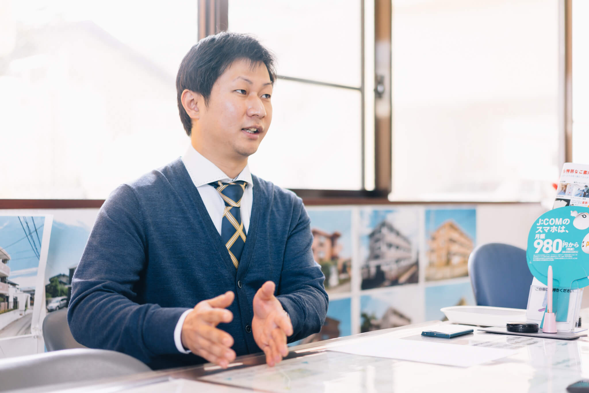 「入居者様のニーズをできるだけ汲み取って、それに近いものをご紹介したいと思っています」とお話をしてくださったのは、男性スタッフの井村さんです。