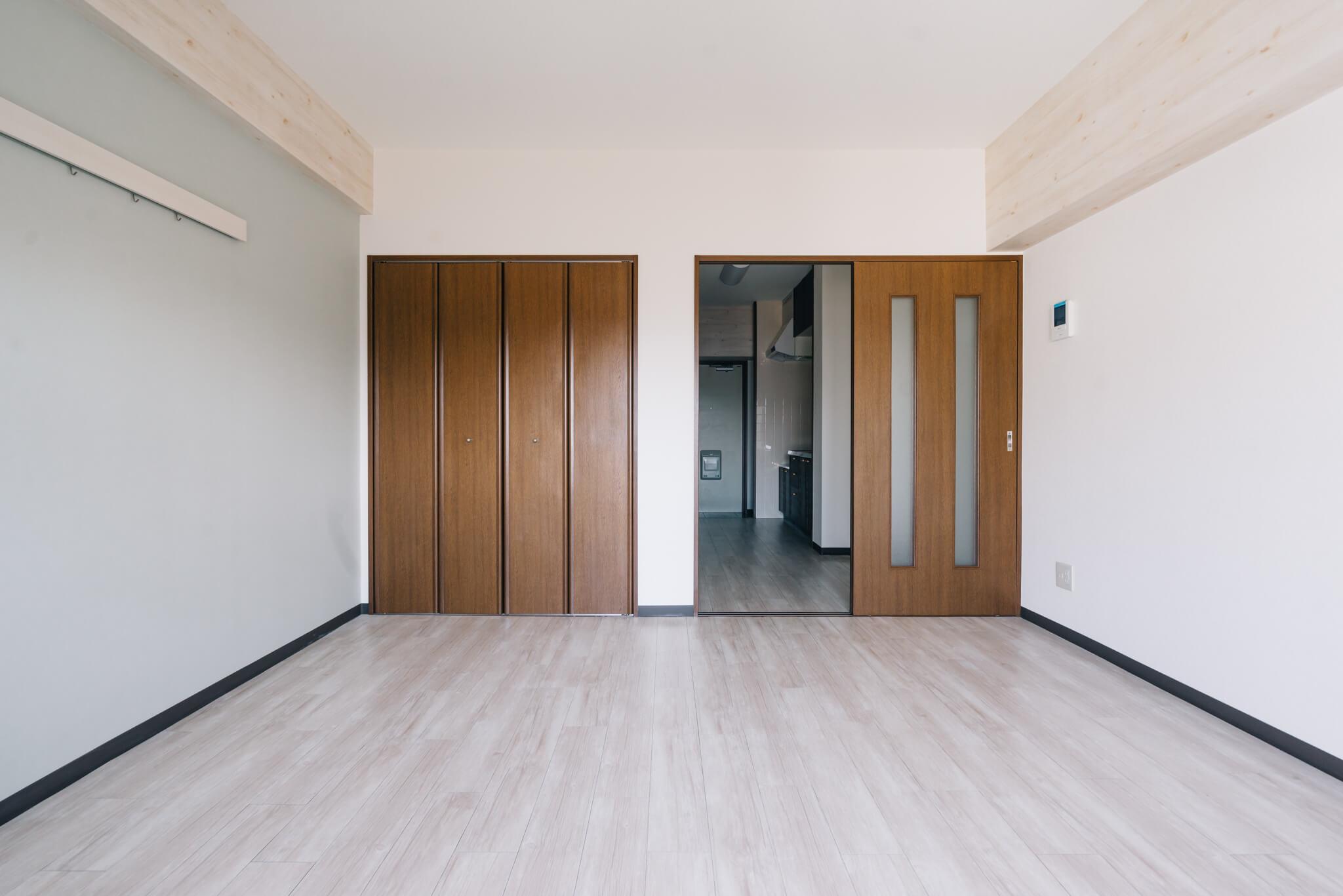 見せていただいた、クラストの物件。お部屋は少し広めにつくってあり、たとえば1Kタイプのお部屋では30平米前後のものが多く、かなりゆったりとしています。