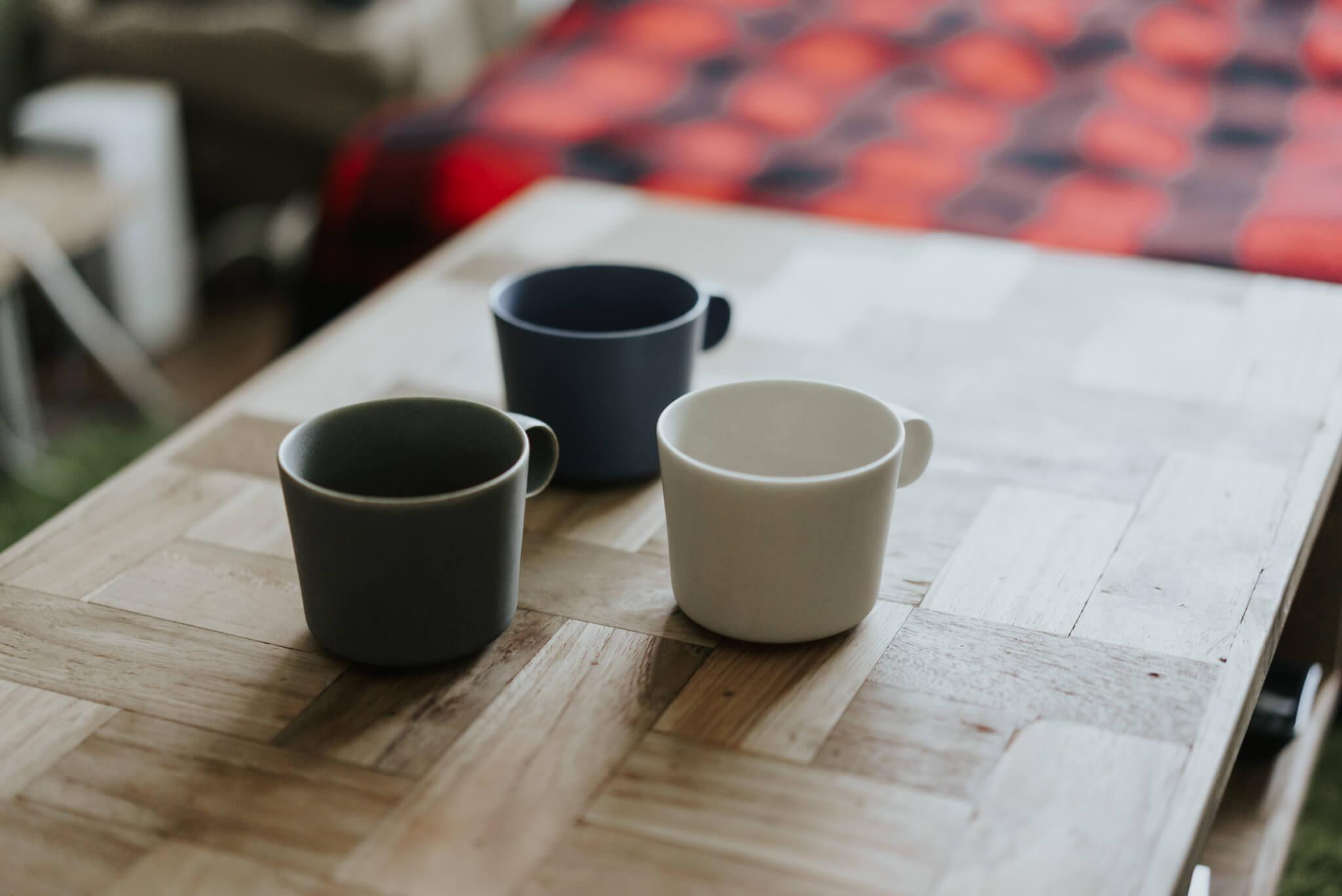 手になじむ使い心地に一目惚れ。イイホシユミコさん「unjour」のマグカップ