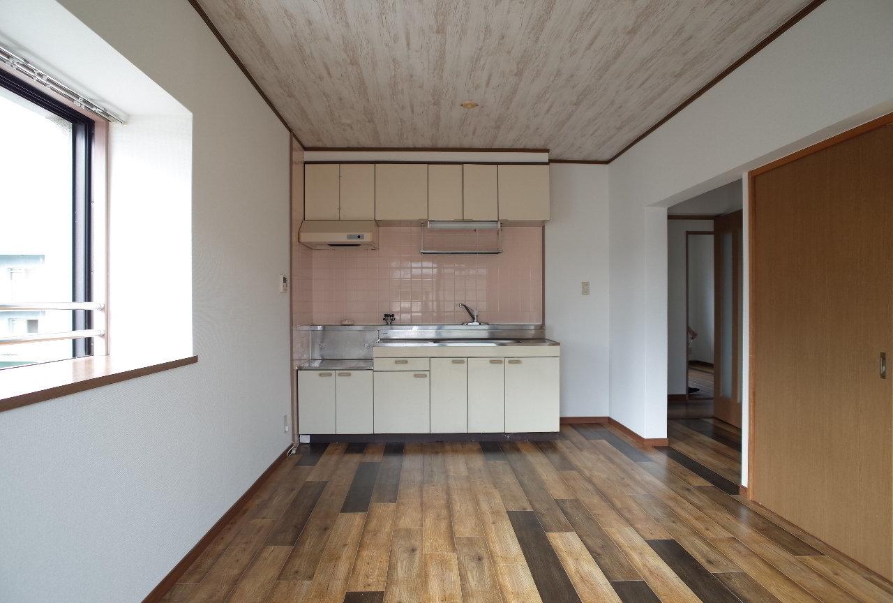 大きなキッチンが使いやすそうな3LDKのお部屋です