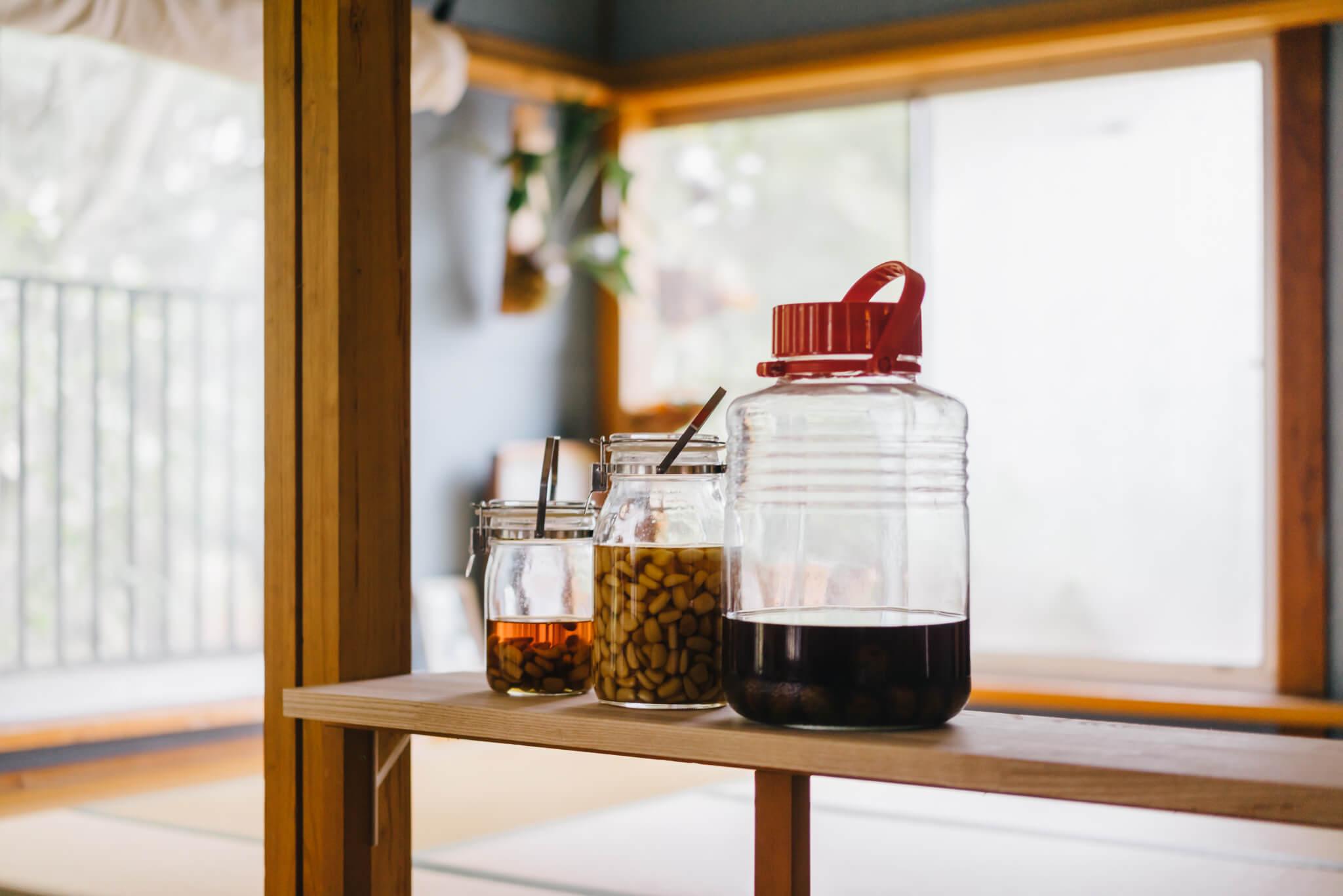 緑川さんの最近のお気に入りは、自家製のらっきょう漬けを作ること。