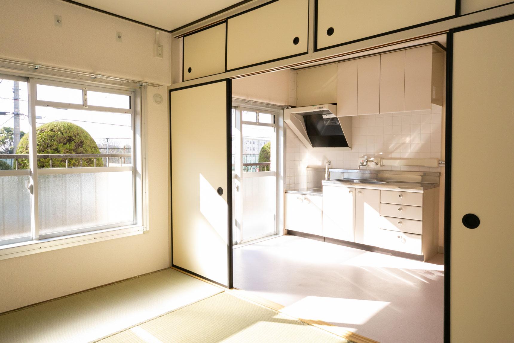 こちら、ビフォアの3DKのお部屋。
