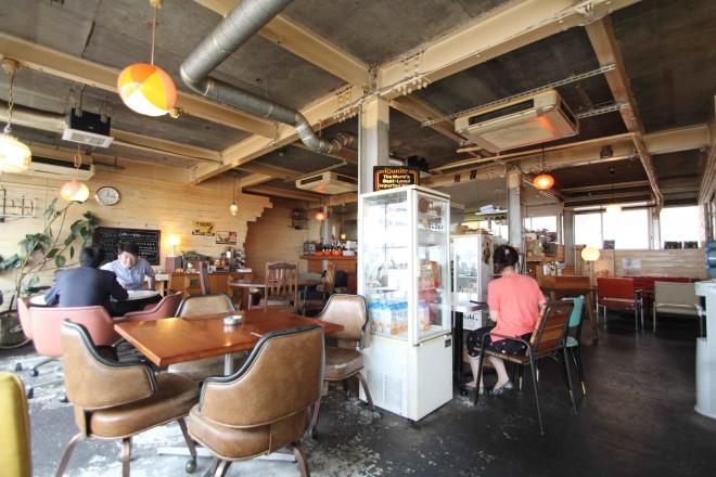 おしゃれなカフェもたくさん集まる中崎町。