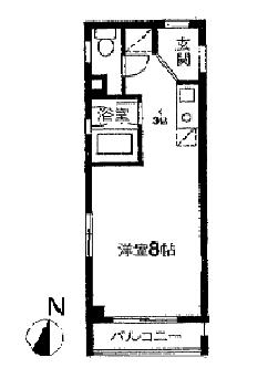 (阿佐ヶ谷/24.6㎡/7.8万円)