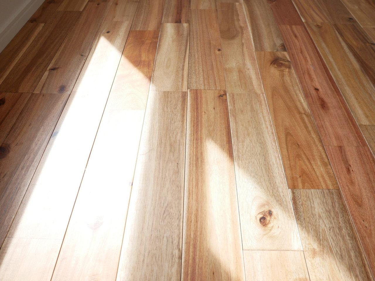 この部屋の推しポイントはなんといっても無垢床。ずっと素足で触れていたくなるほど、気持ちがいいんです。この良さは、無垢床物件に住んだことのある人にしかわからない…!