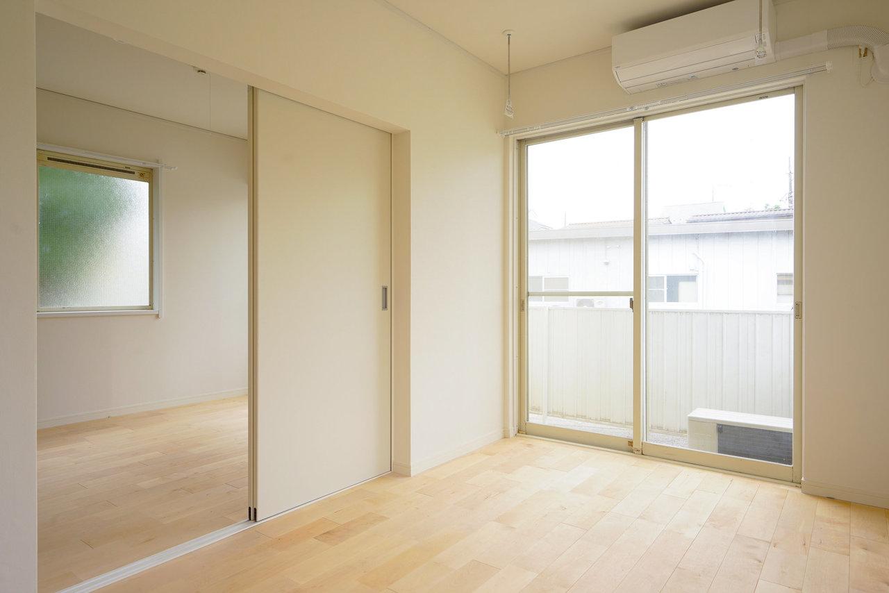 2019年度にJR線、2022年度に東急東横線との直通運転が予定されていて、渋谷や新宿に一気に通いやすくなる相鉄線。こちらは駅から少し離れたアパートなのですが、自転車などがあればかなり便利に暮らせそう(画像は完成イメージ)