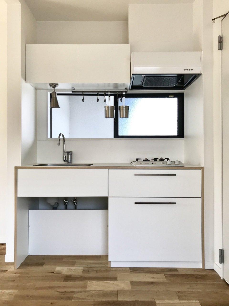 キッチンや洗面台のデザインもすごく可愛いです