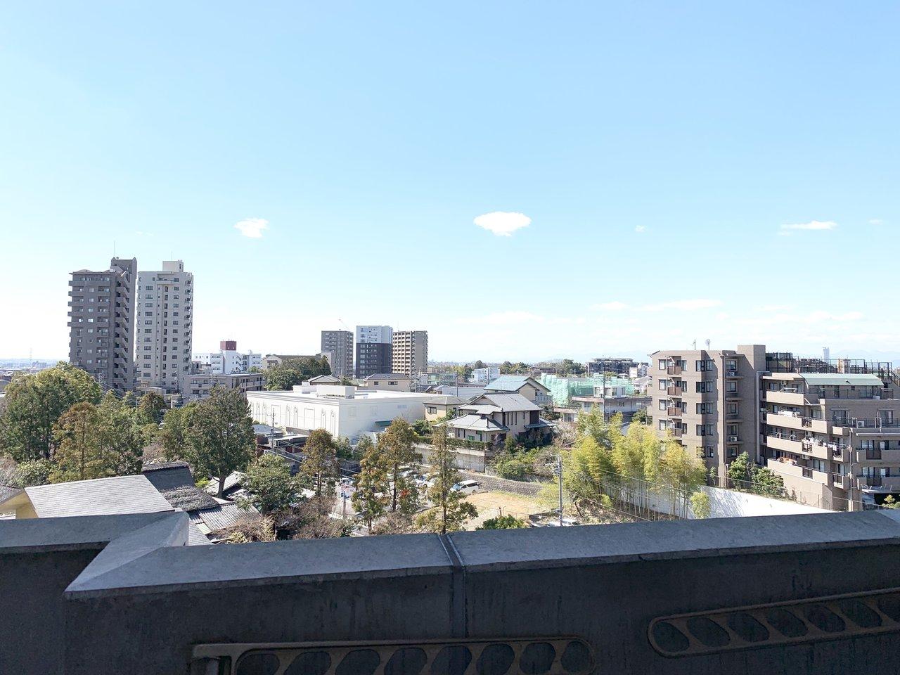 6階なので眺望も良いんです!