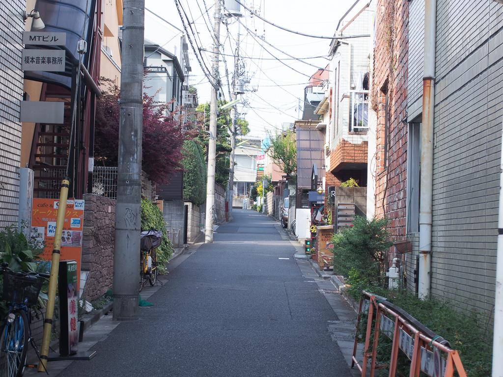 メインストリートから少し入ればまたお店があったりして、散策も楽しい。