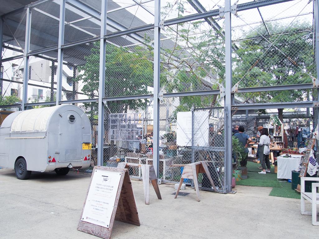 常に面白そうなイベントが行われている下北沢の新名所。街に開かれた新しい公園のような空間として運営されているそう。