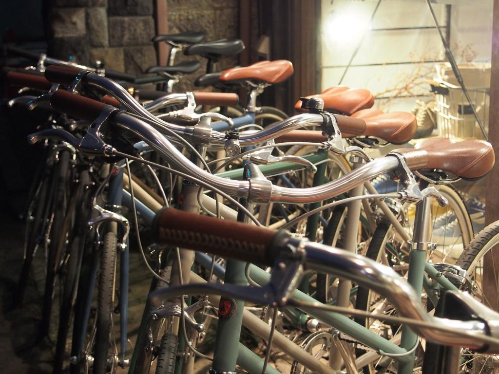 おしゃれで質の良い自転車屋さん。レンタサイクルも。