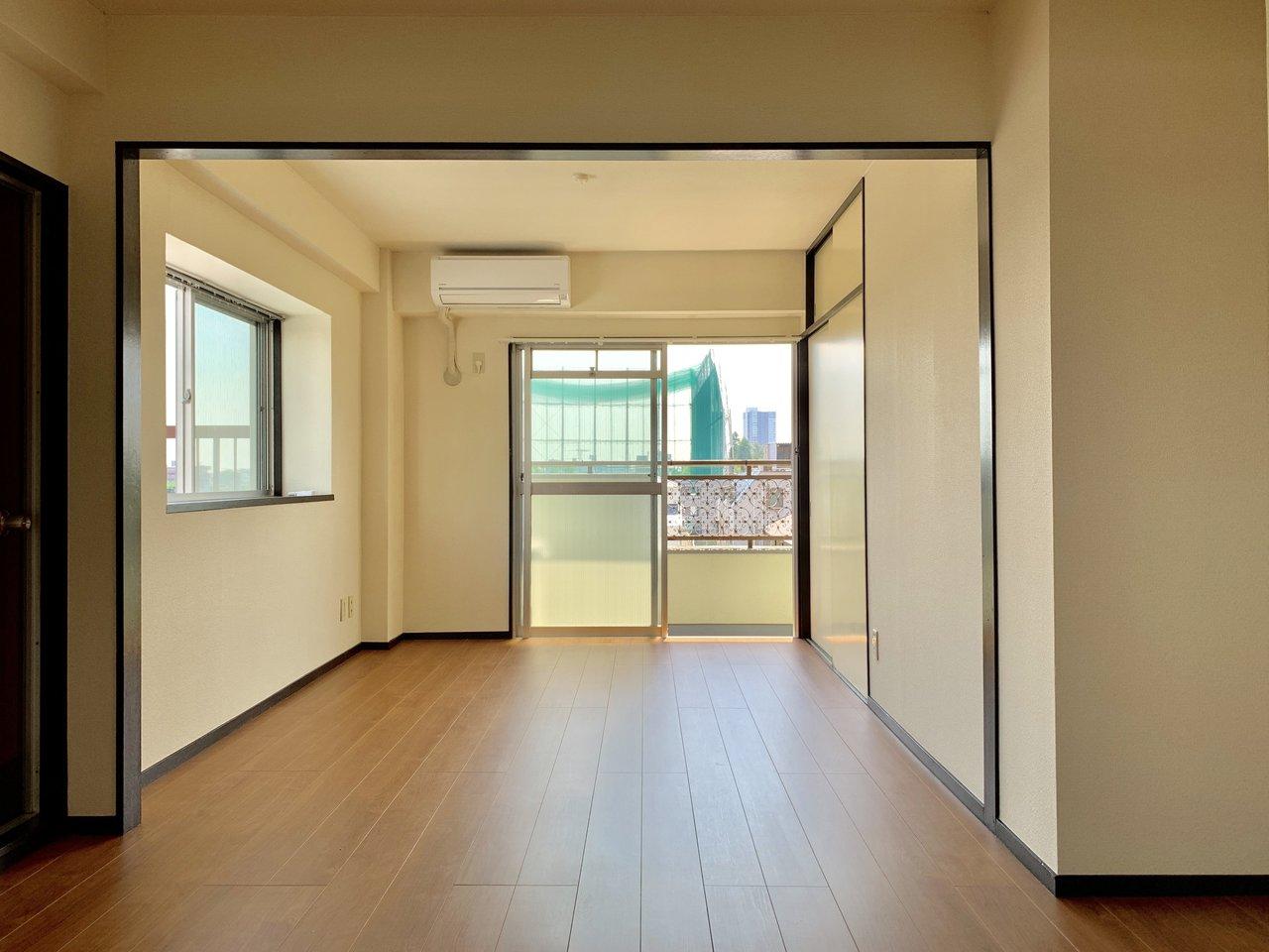 LDKも13畳!広々空間です。お気に入りの家具をどんな風に配置しよう?