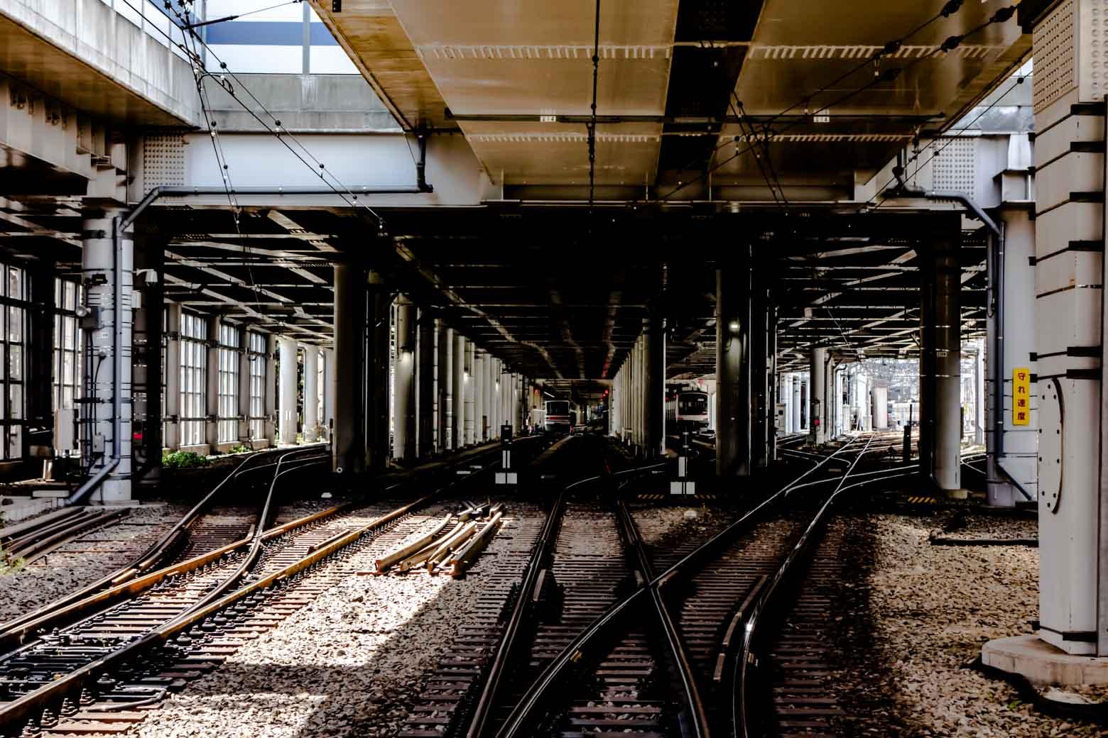 車両基地があるため、電車マニアからも熱い視線を浴びています。