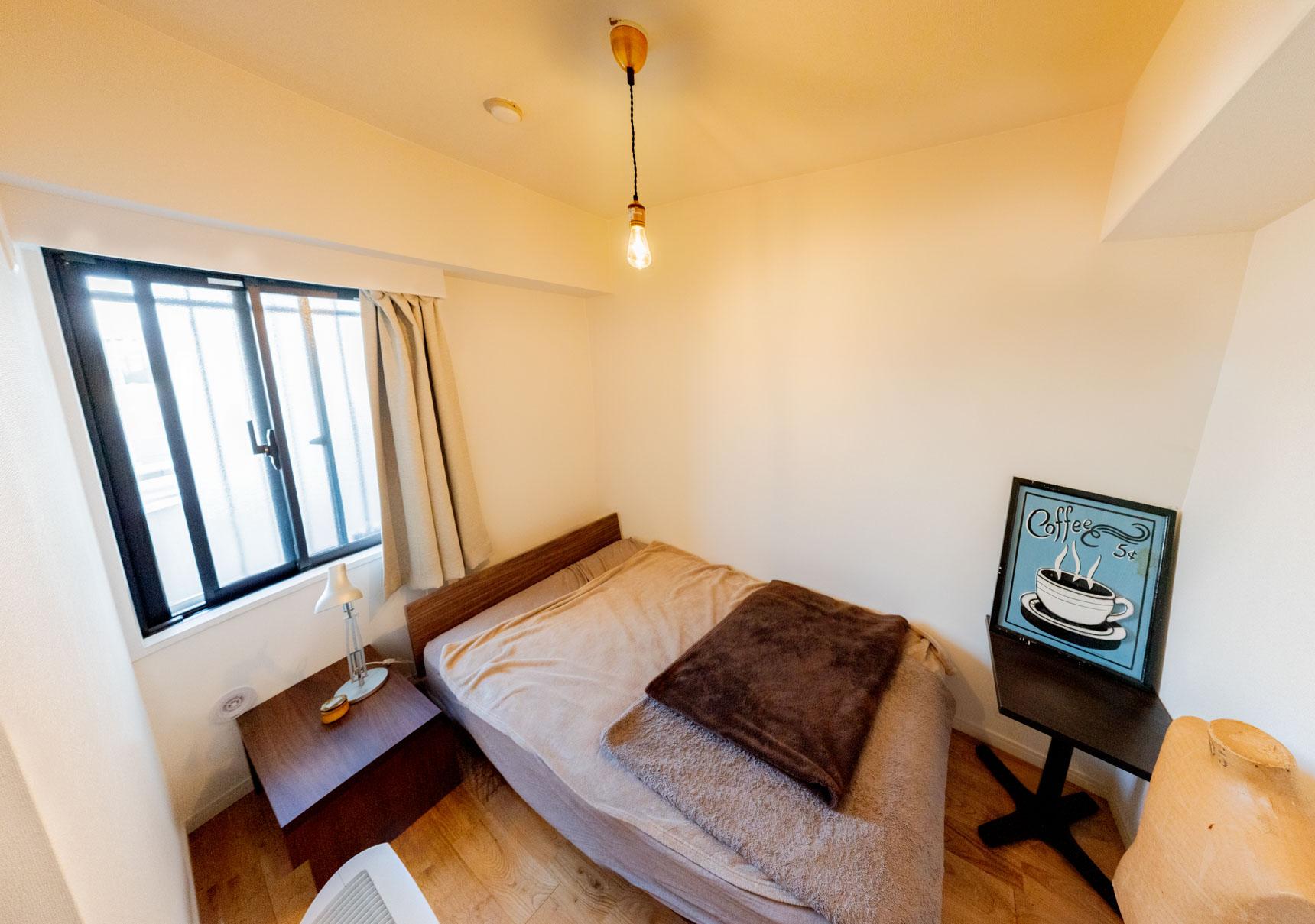 もうひとつある居室は、ゲストのための部屋にしている。