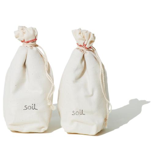 こちらは、珪藻土を使った人気のシリーズ「soil」のDrying Sack