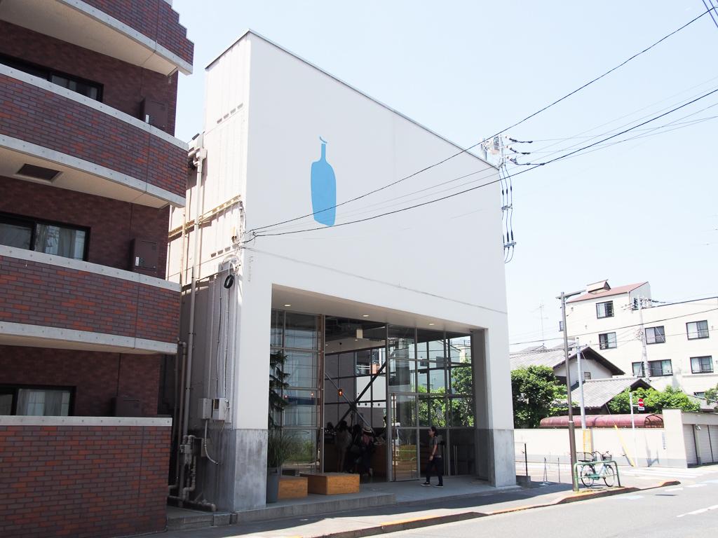 ここがあの、ブルーボトルコーヒーの日本1号店。