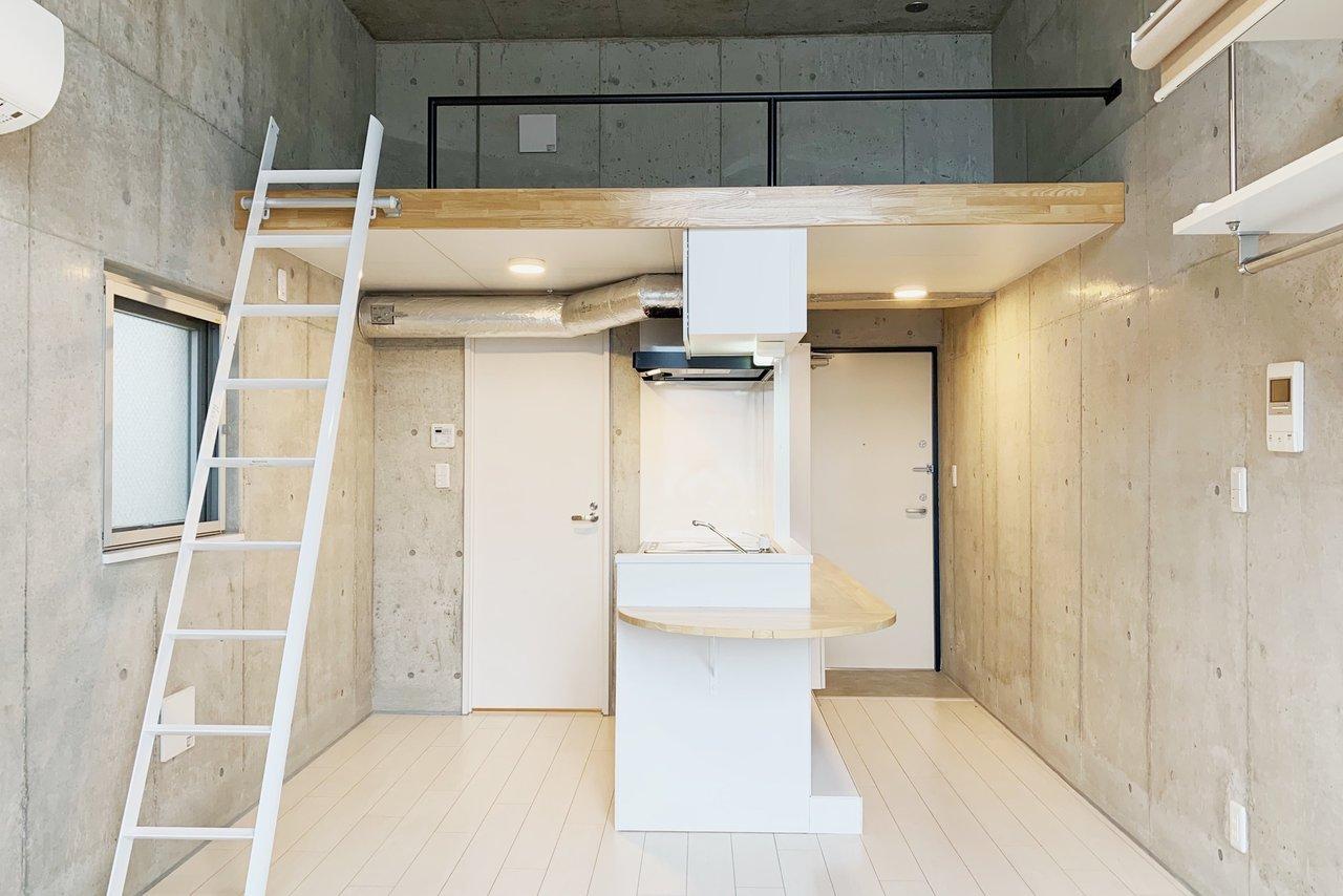 開放的な部屋で過ごしたいから、あえて選ぶ。関東・ロフトのあるお部屋。