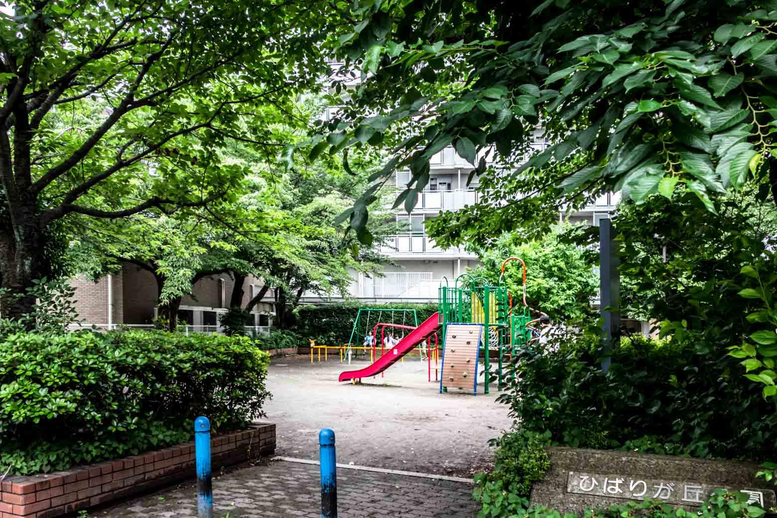 その近くにはこれまた雰囲気のいい公園が。