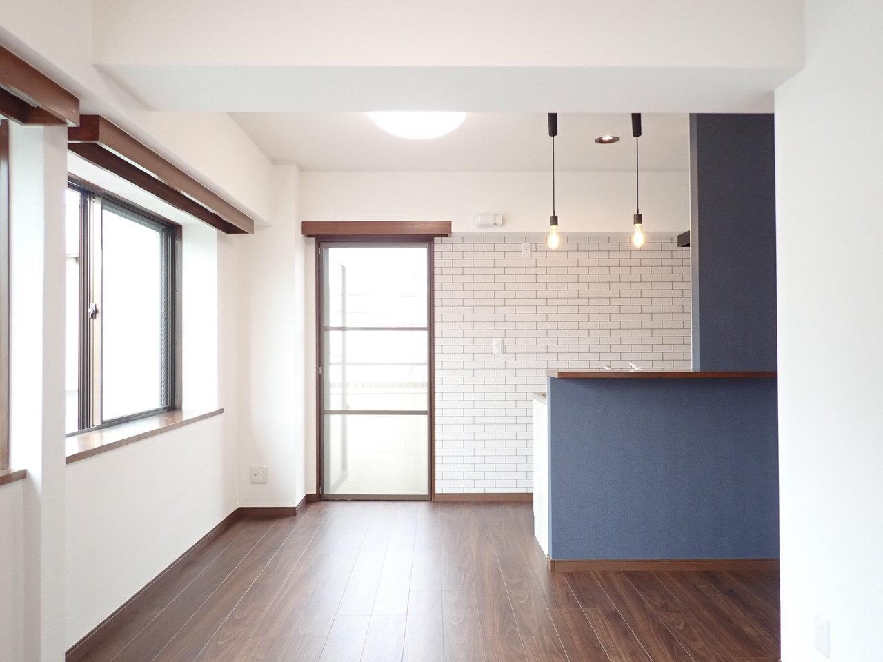 まず1件目。カウンターキッチンがおしゃれなお部屋です。
