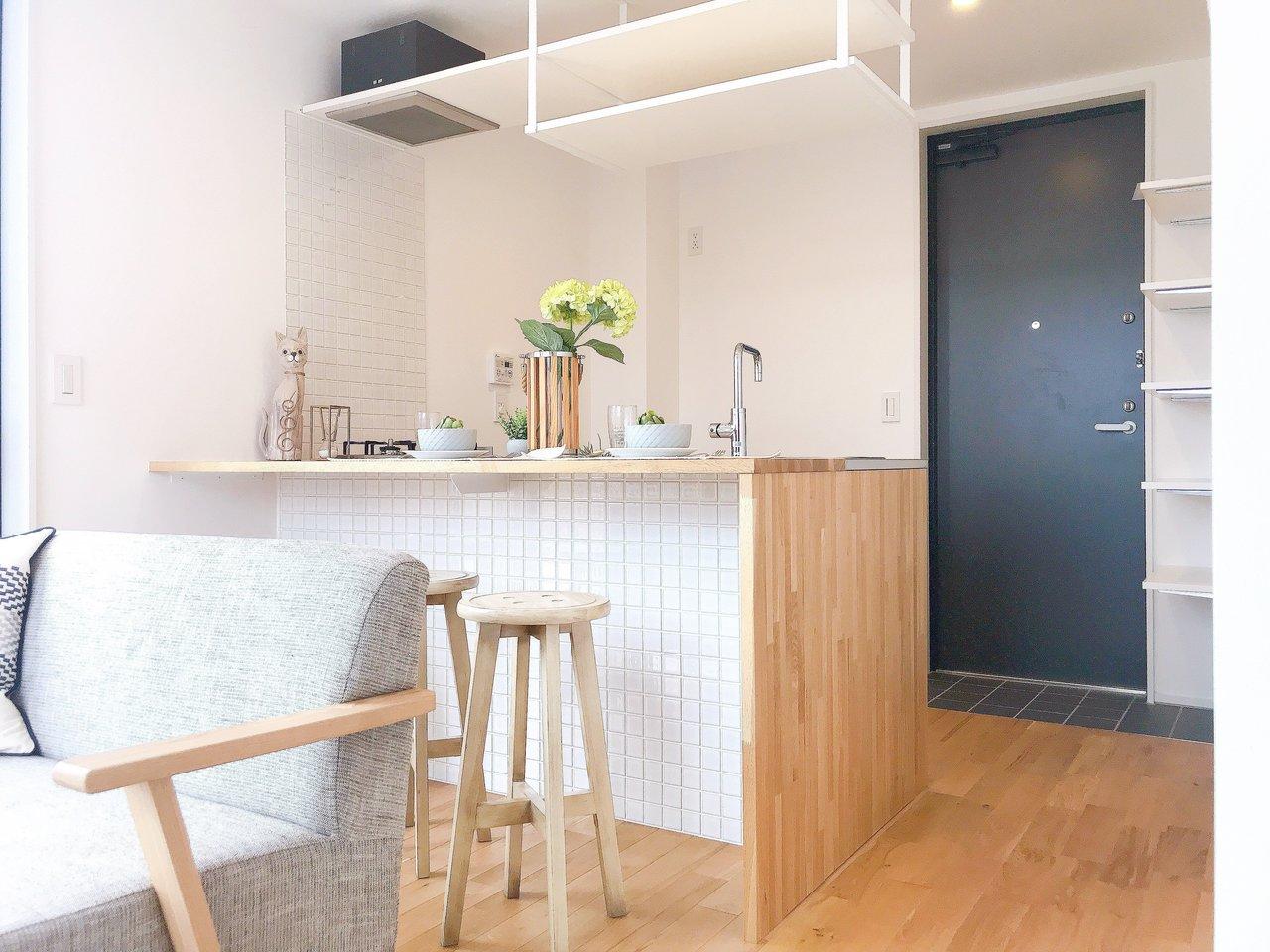 キッチンに、もっと個性を! 都内のおしゃれなキッチンのあるお部屋まとめ