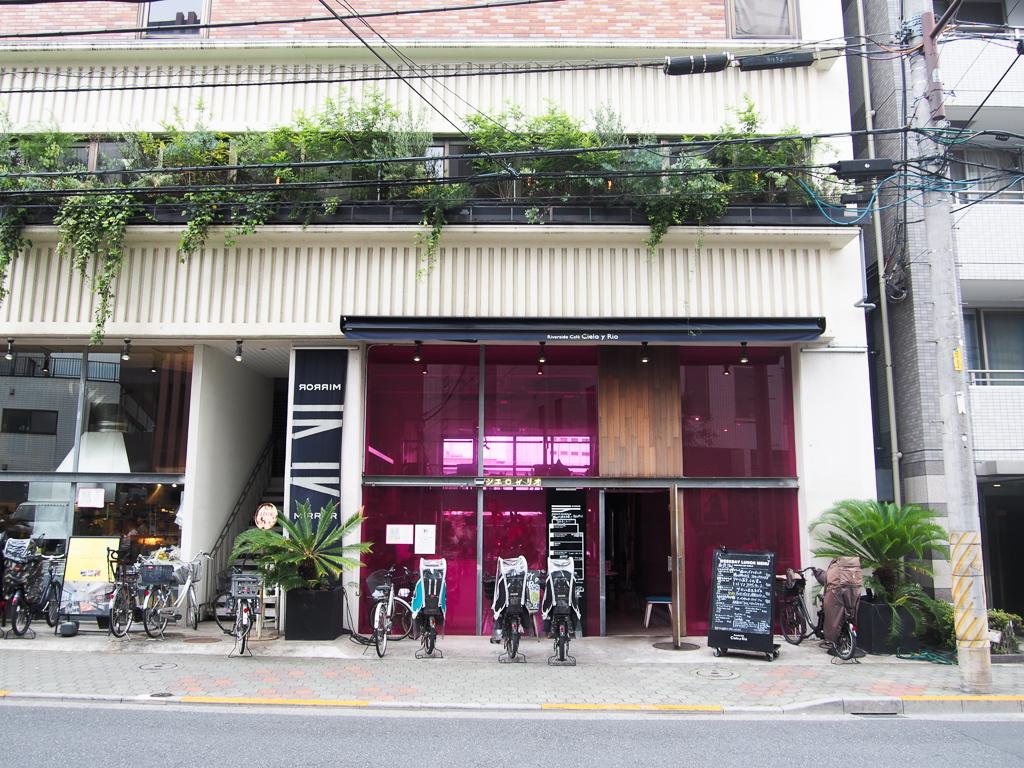 隅田川を眺めながら食事が楽しめるレストラン「シエロイリオ」