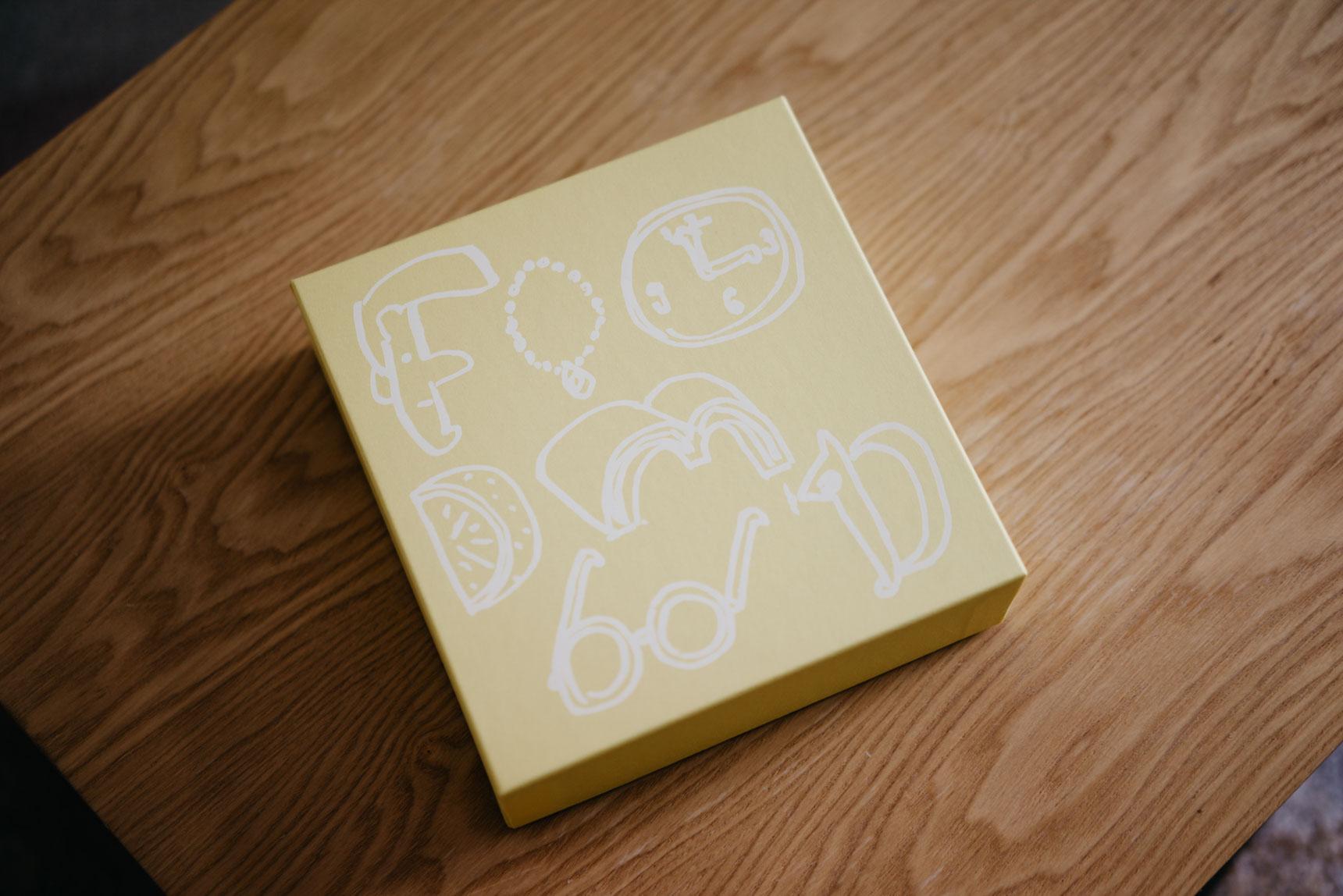 この「ハコ」、ずっととっておきたい。国立「foodmood」のクッキーBOX