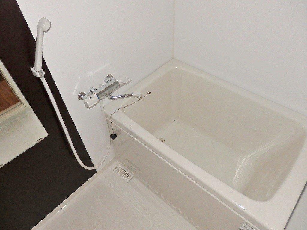 お風呂などの水回りの一新されています。普段はシャワーだけで済ませていた方も、これならゆっくり湯船につかりたくなりそうです。