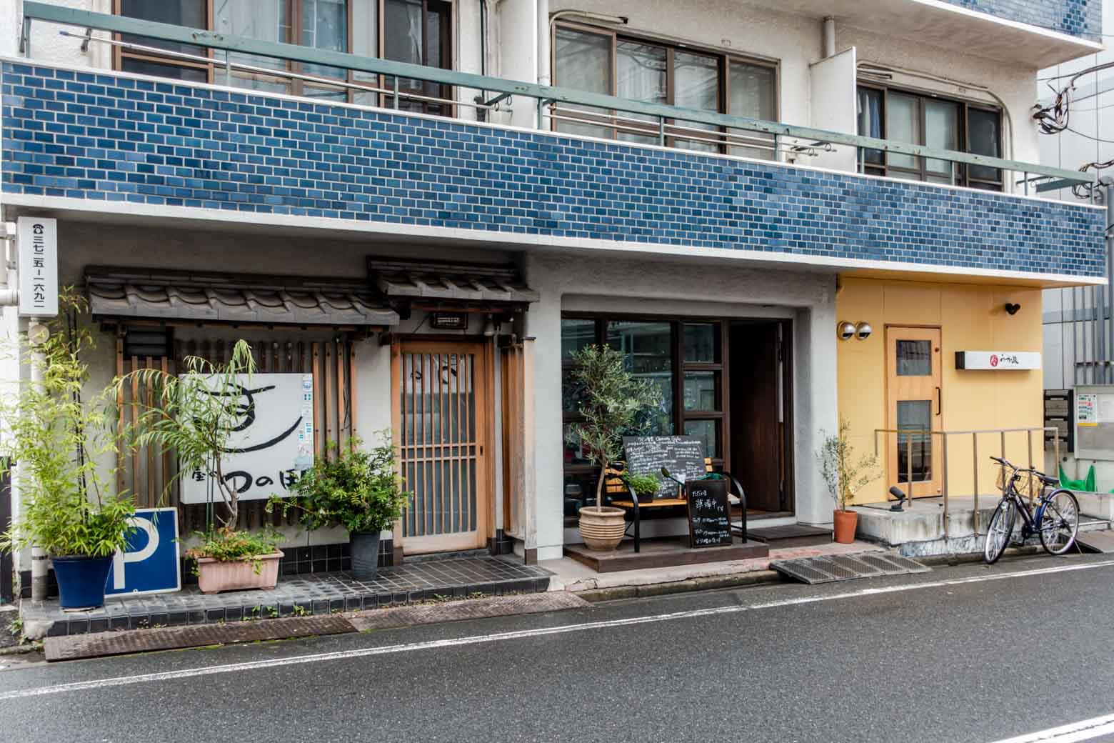 しかも、1階には寿司屋とワイン食堂、さらに割烹料理屋が入っています。盤石の体制です。