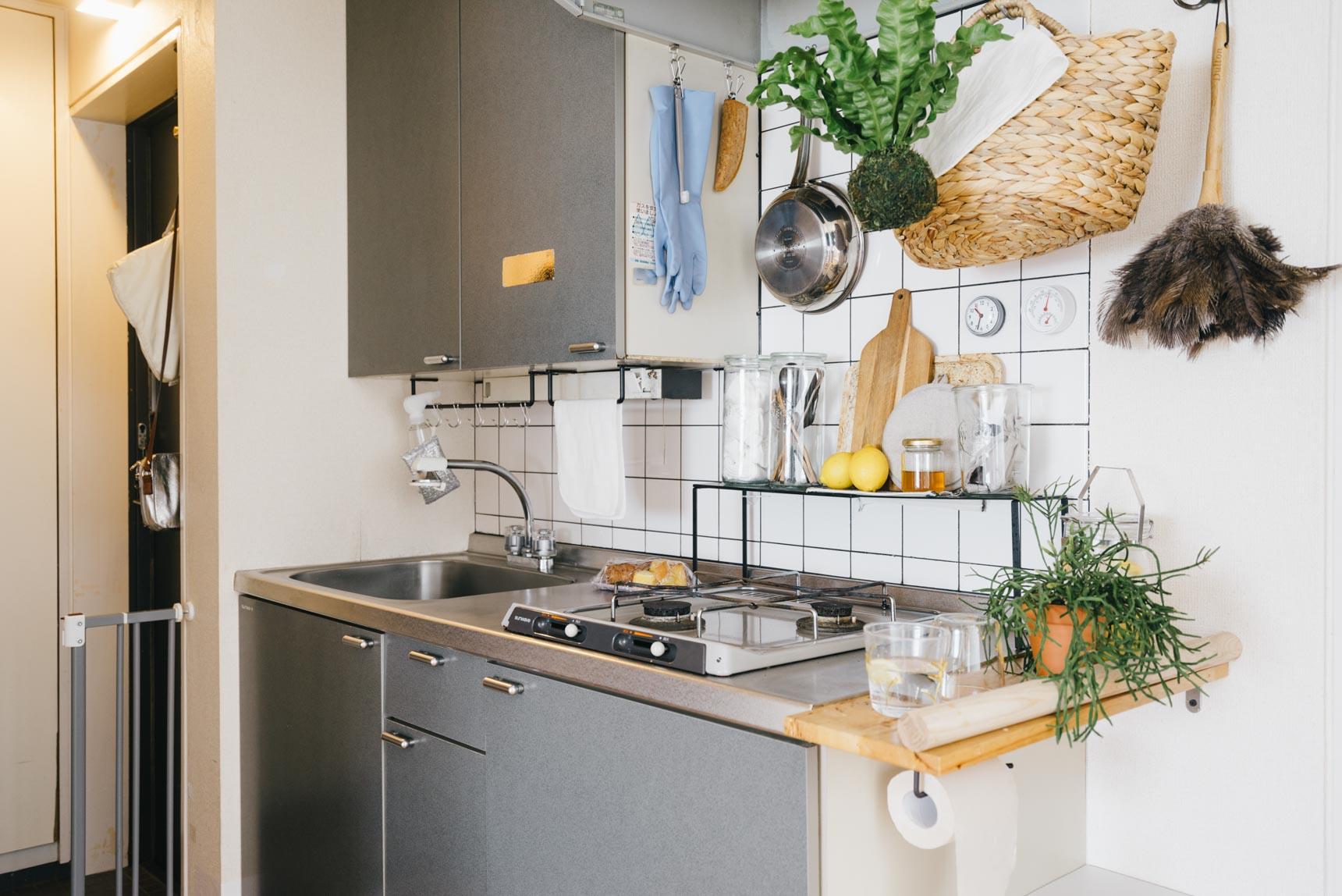 キッチンも、実用的で、かつインテリア性も優れたアイテムのみに厳選。