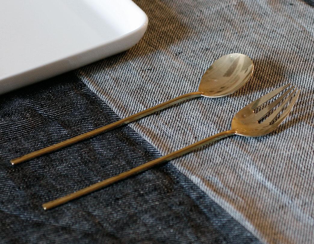 お気に入りの道具で、食事を愉しむ体験を。クラフトフェア -「Lue」真鍮のどうぐ-開催