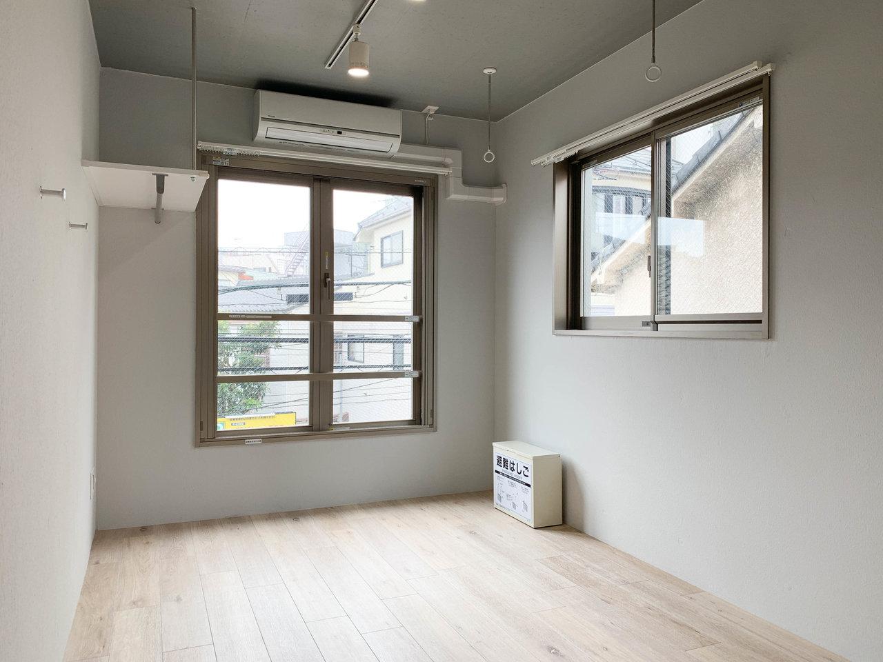 やや駅から遠目ですが、いいお部屋なのでご紹介。設計者の〈愛〉が詰まったワンルームです。こちらも工夫が行き届いていて、とっても暮らしやすそうです。