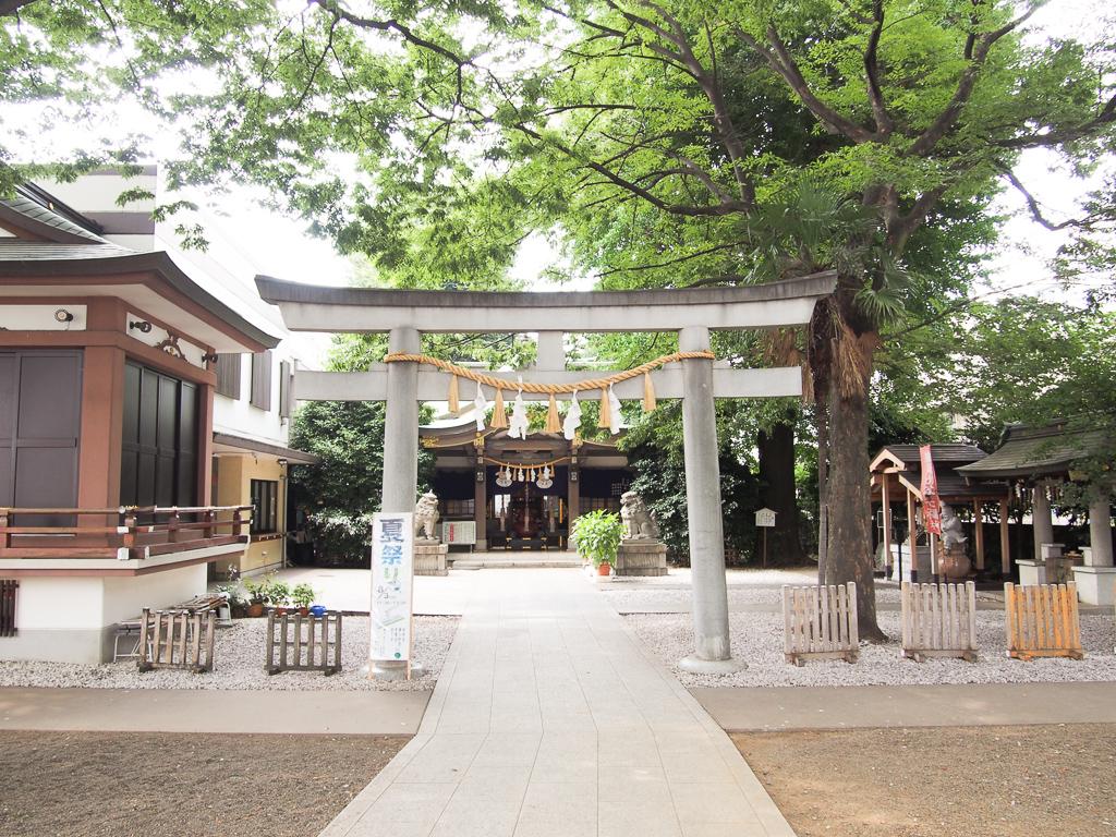 他にもたくさんの神社がありました。