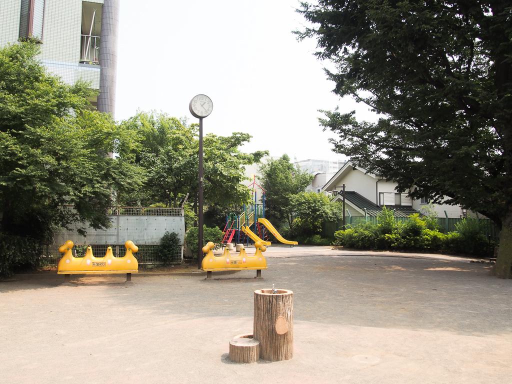 住宅街の中にある、「ハイゼの原」公園。