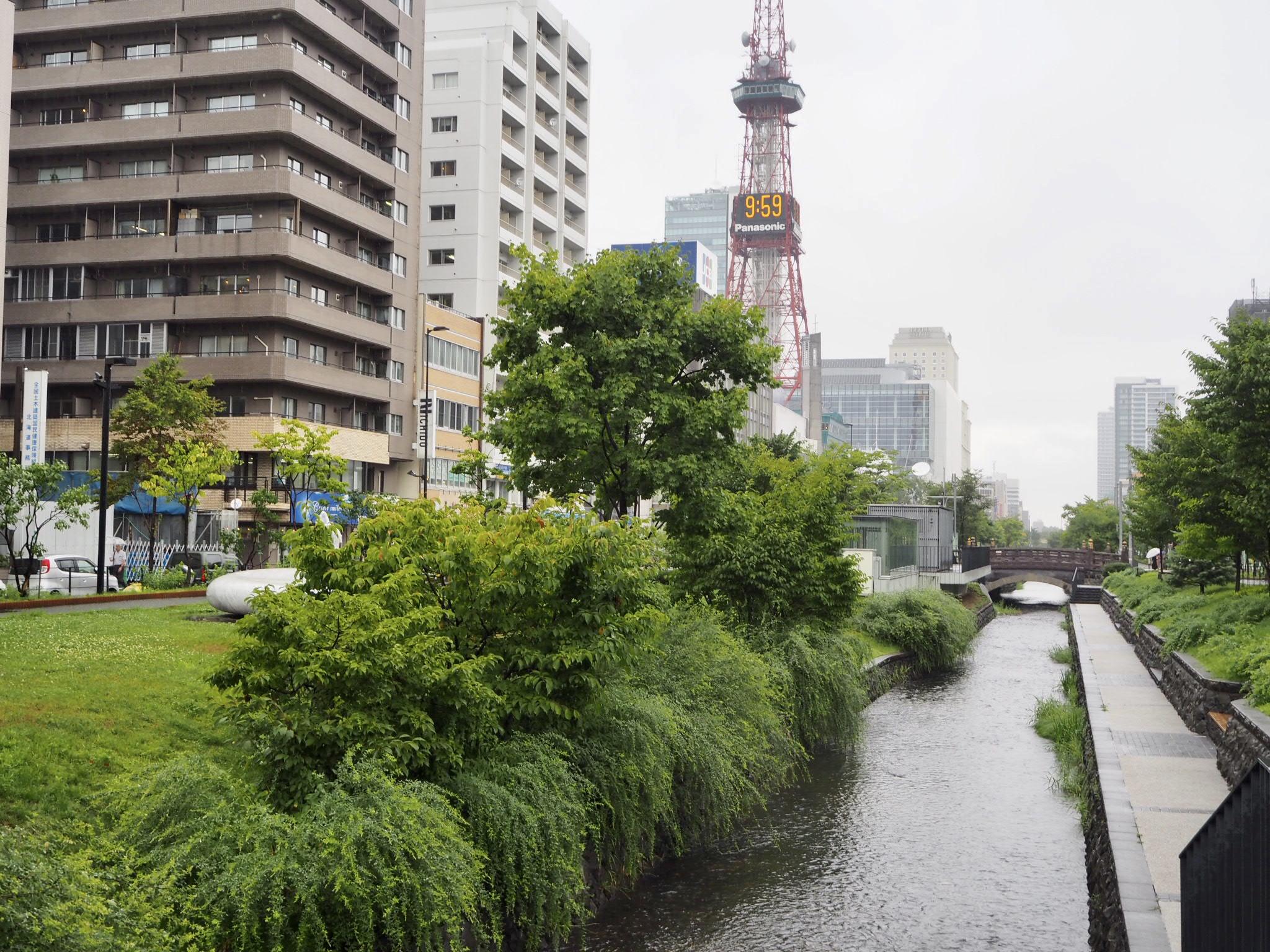 札幌の中心地でありながら、自然を感じられるスポットでもあります。