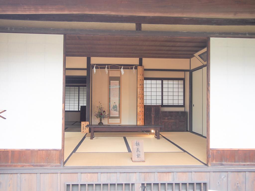 松下村塾のレプリカも。当時の雰囲気を少しでも感じたい方にはおすすめ。