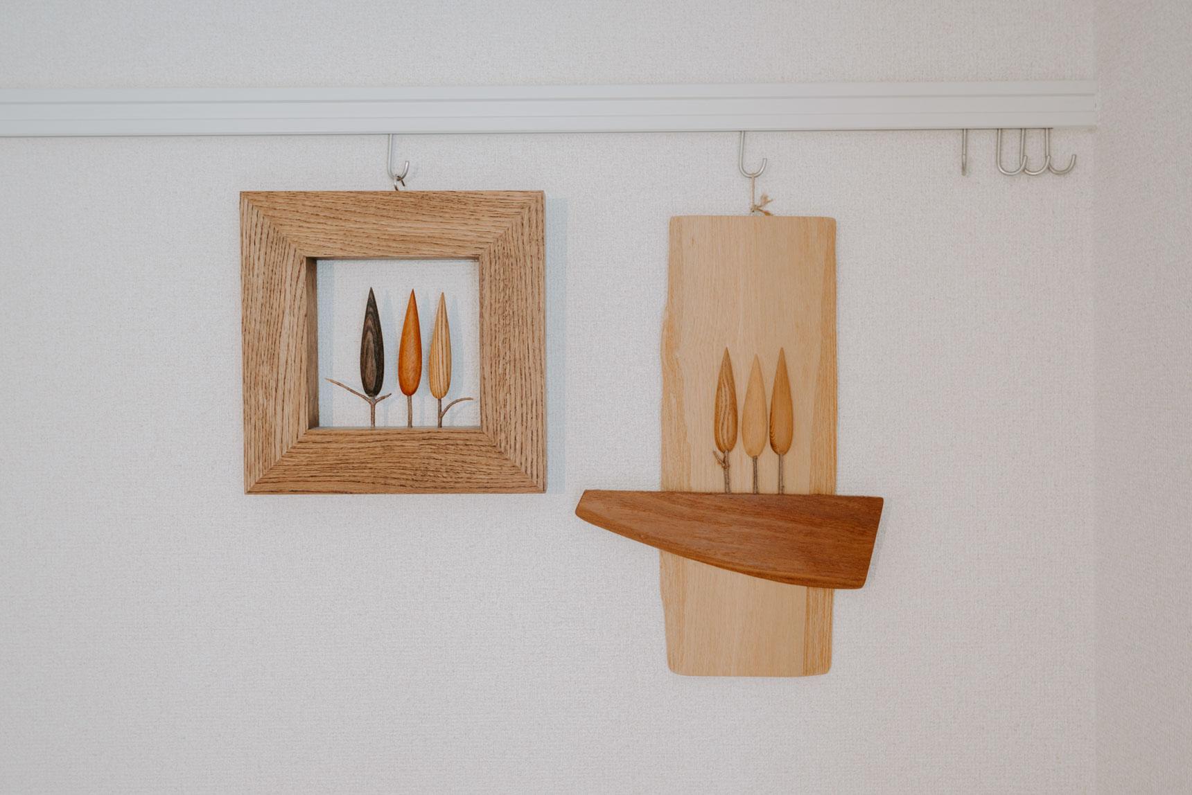 北海道美瑛の木製品のお店、「貴妃花(きひか)」の作品は好きで集めているもののひとつ。