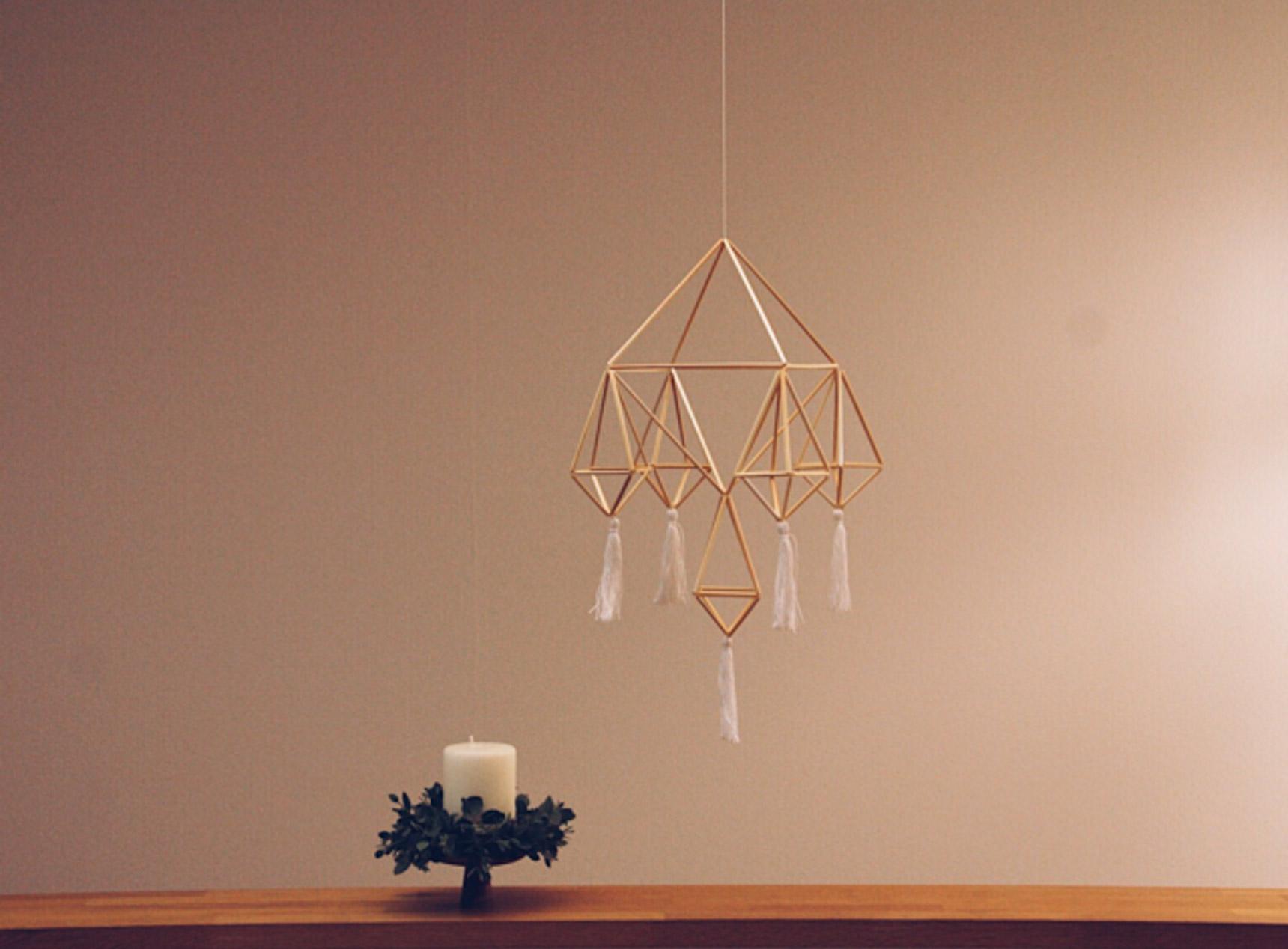 冬至を祝う北欧の伝統装飾「ヒンメリ」を作ってみませんか?