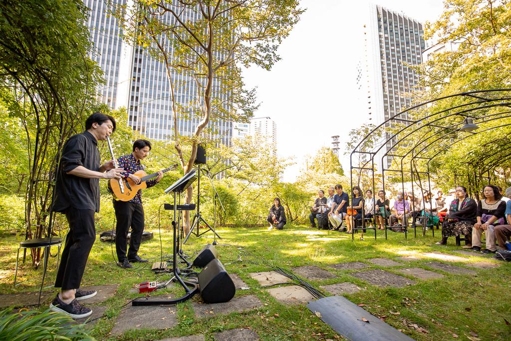 自然のなかで上質な音楽を。六本木「ARK Hills Music Week 2019」開催