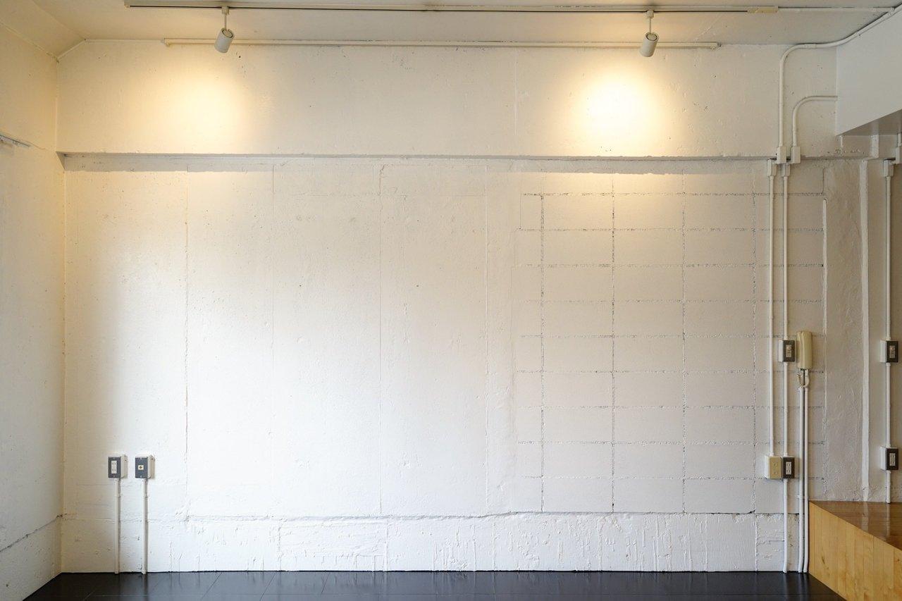 一段低い場所は壁が白塗りのレンガになっています。みんなで段差に腰をかけて映画を楽しんでも面白そう。おしゃれなワンランク上の暮らしに手が届きます。