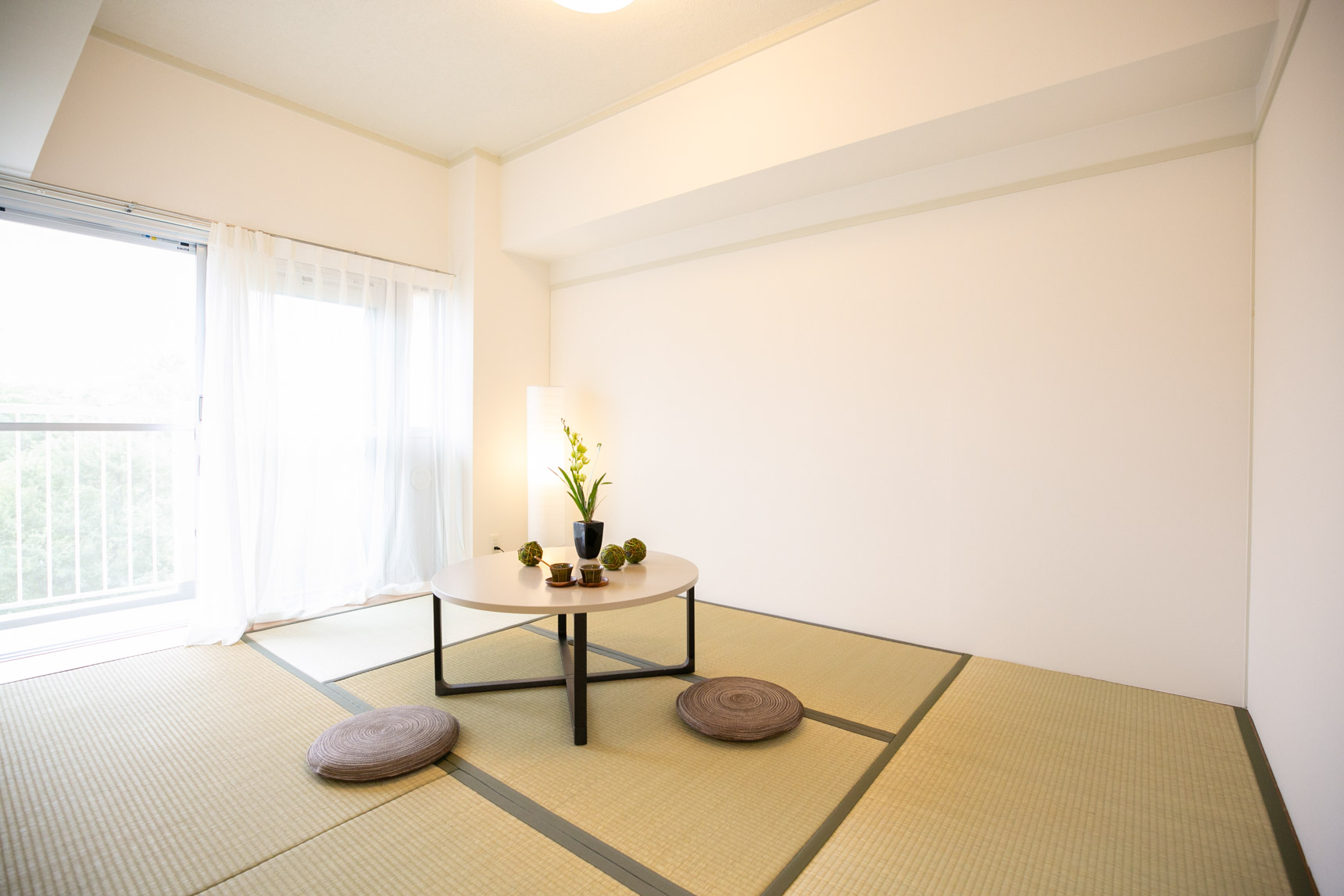 もう1部屋は和室。畳のお部屋って、小さな子どもが遊んだり、来客があったりした時にも使いやすいんですよね。