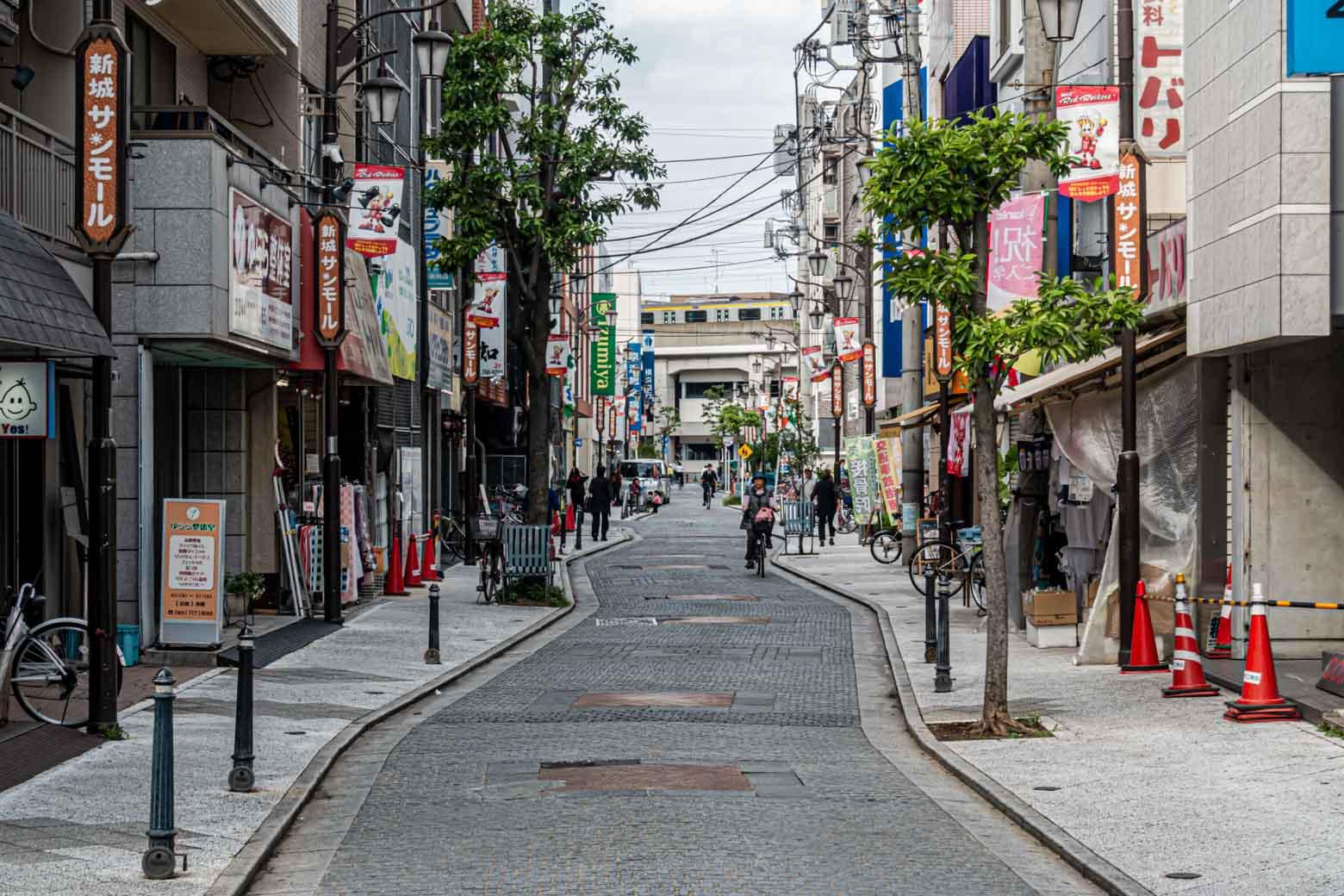 〈武蔵新城サンモール〉を通って駅に戻りました。ぜひ、お気に入りの商店街を探してみてください。
